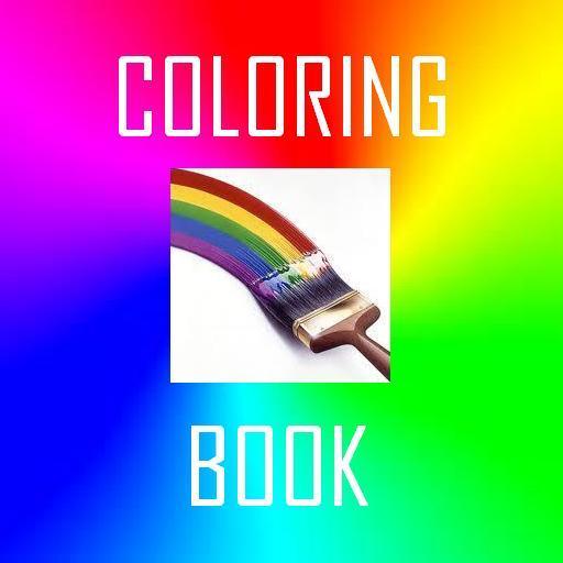 Coloring Book LOGO-APP點子