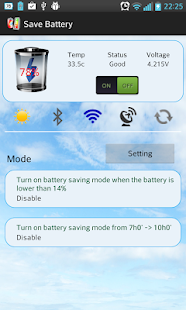 Battery Saver X3 2014