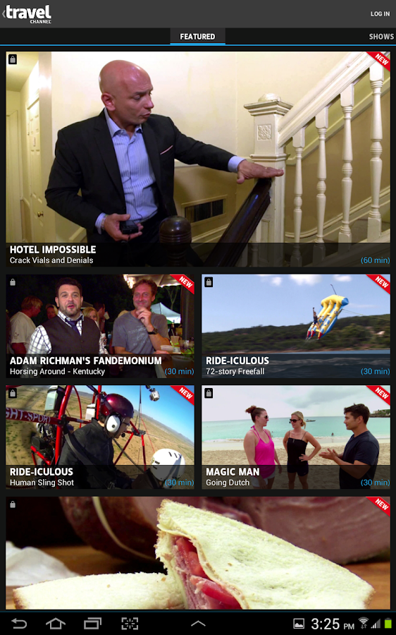 Watch Travel Channel - screenshot