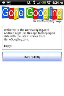 Gone Googling - screenshot thumbnail