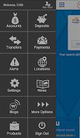 Screenshot of Webster Bank® Mobile