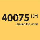 40075km - around the world