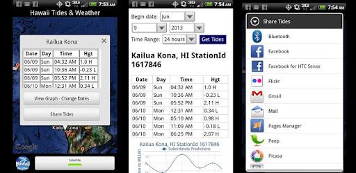 Tides Pacific Islandshawaii Apps On Google Play