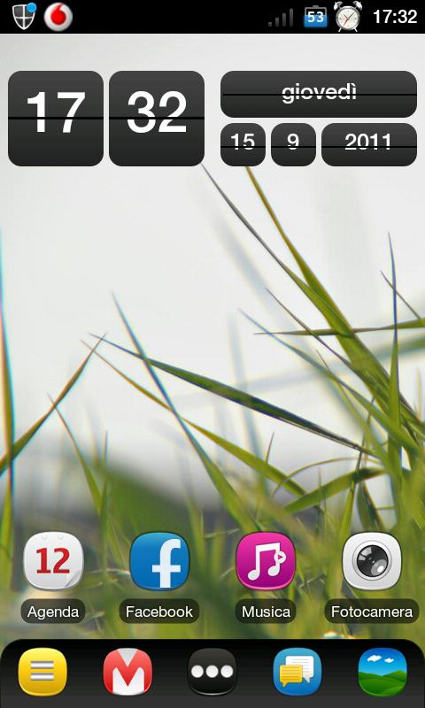 Belle Theme for GO Launcher EX- screenshot