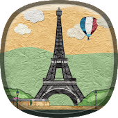 Paper Paris Live Wallpaper