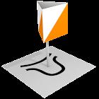 Orienteering clue symbol quiz icon