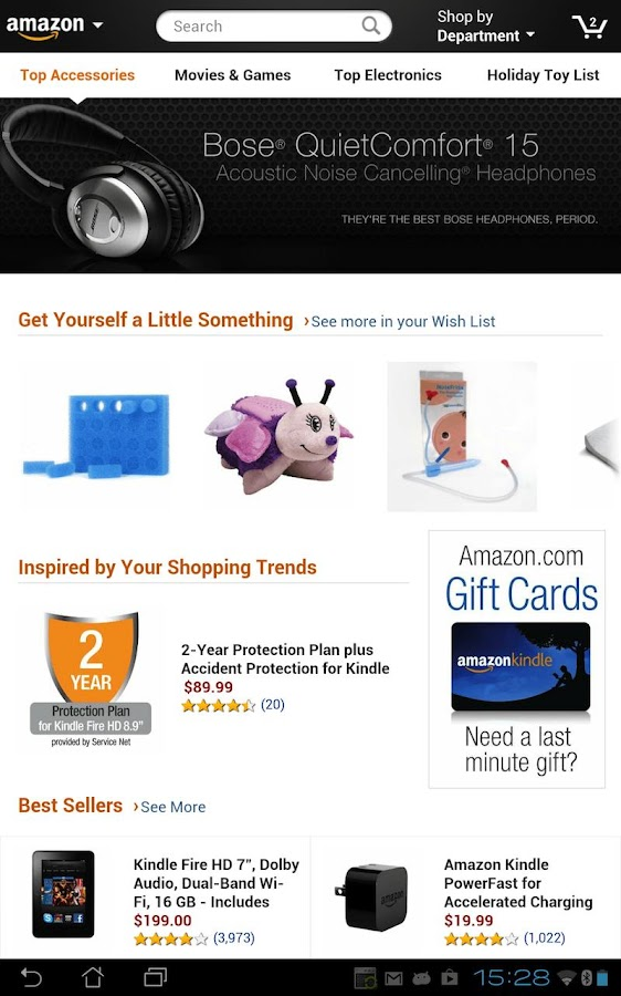 Amazon for Tablets - screenshot