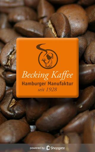 Becking-Kaffeeshop