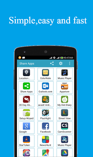 Share apps 1.0.0Z2 screenshots 1