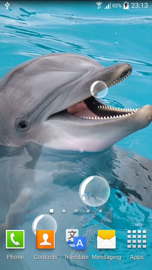 Delfino sfondi animati app android su google play for Sfondi animati pesci