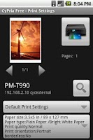 Screenshot of CyPria Free