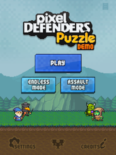 Pixel Defenders Puzzle DEMO