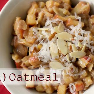 Apple (un) Oatmeal. {Paleo Oatmeal}