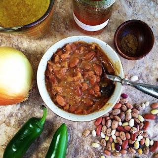 Honey Hot Ranch Beans.