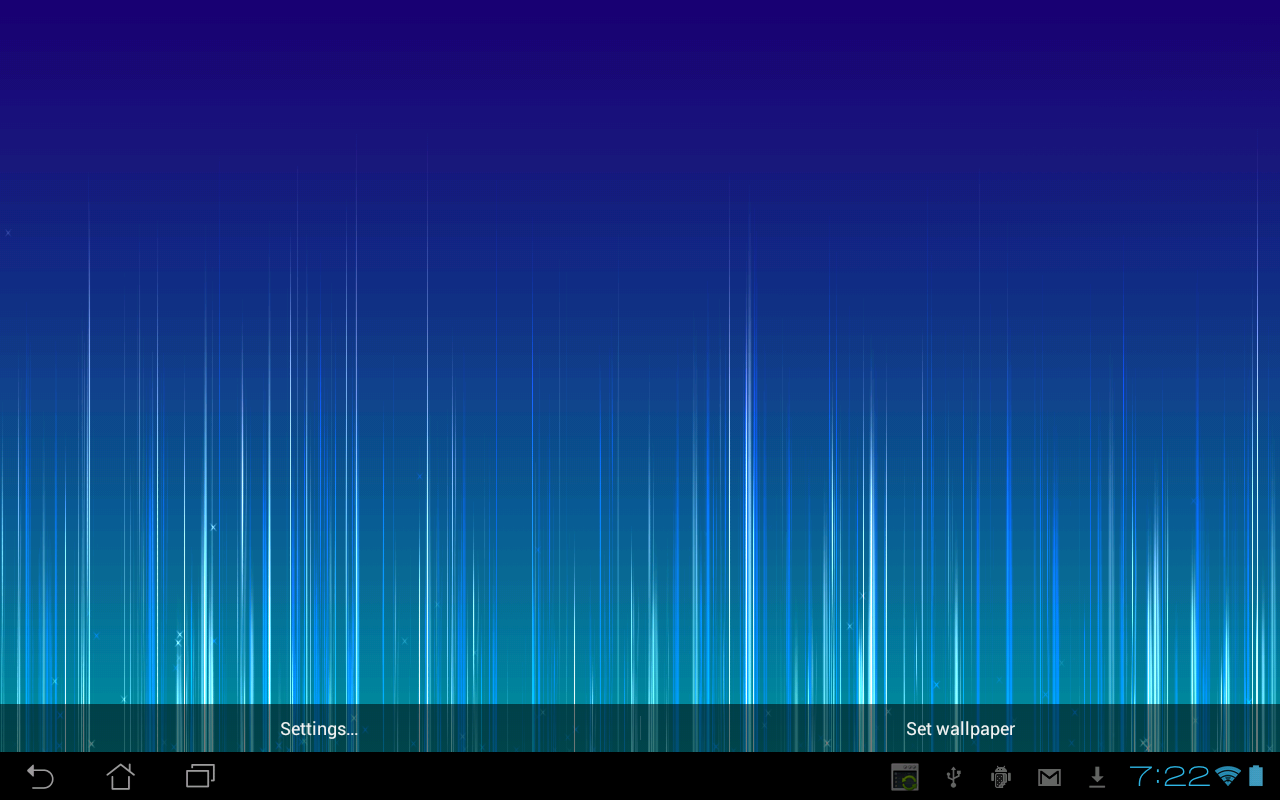 Fading Lines LWP Full- screenshot