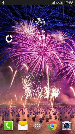 Fireworks Live Wallpaper 2018 1.2.1 screenshots 1