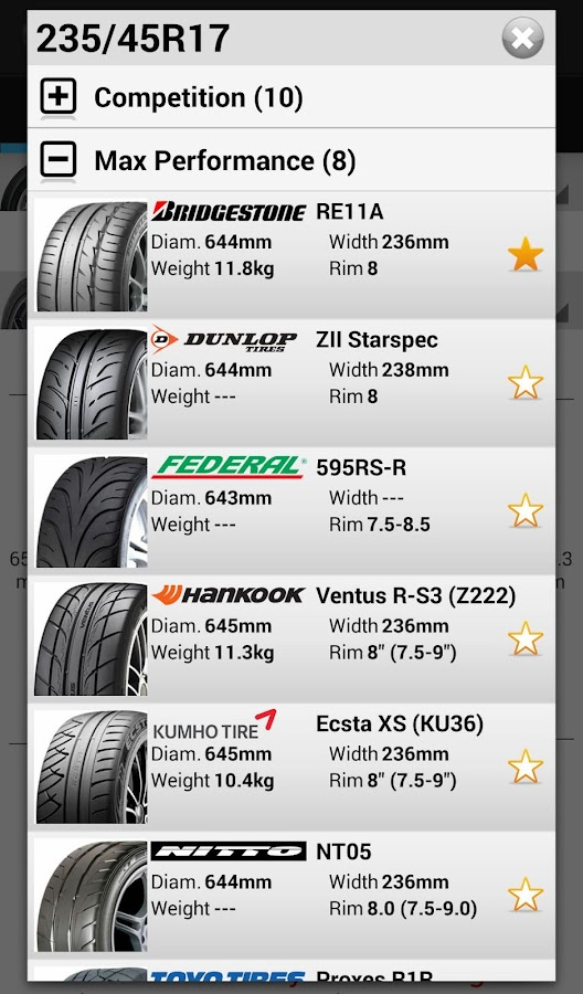 Tire Expert Android Apps On Google Play