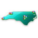 North Carolina Fishing Maps logo