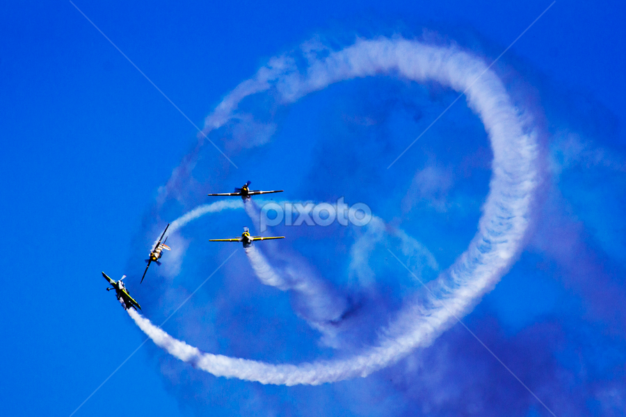 Fight by Diaconu Daniel - Transportation Airplanes ( airplanes, fight, show, air, acrobatic )