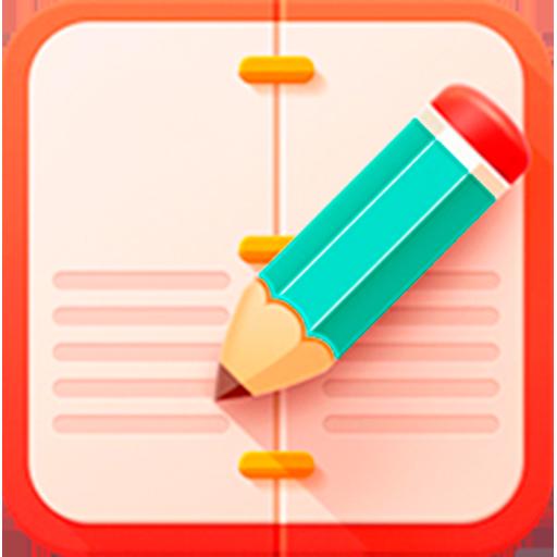 Colored Notes - notebook LOGO-APP點子