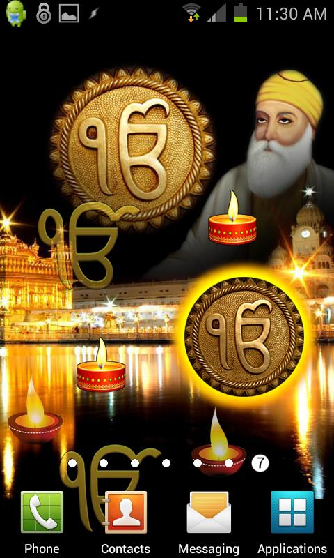 Guru Nanak HQ Live Wallpaper - screenshot