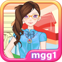 Nerdy Girl Dress Up icon