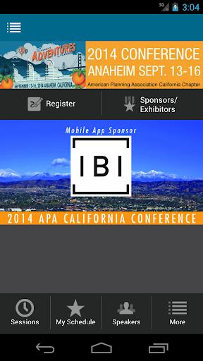 APA California 2014 Conference