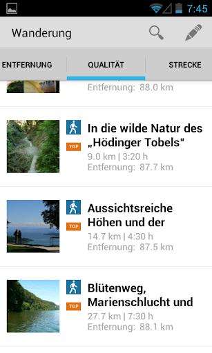 Wander- Fahrradtouren Bodensee