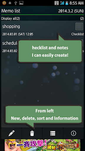 MyNotes - Notepad Todo list -