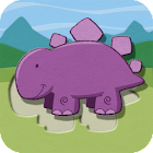 Paper Dinosaurs Puzzle icon