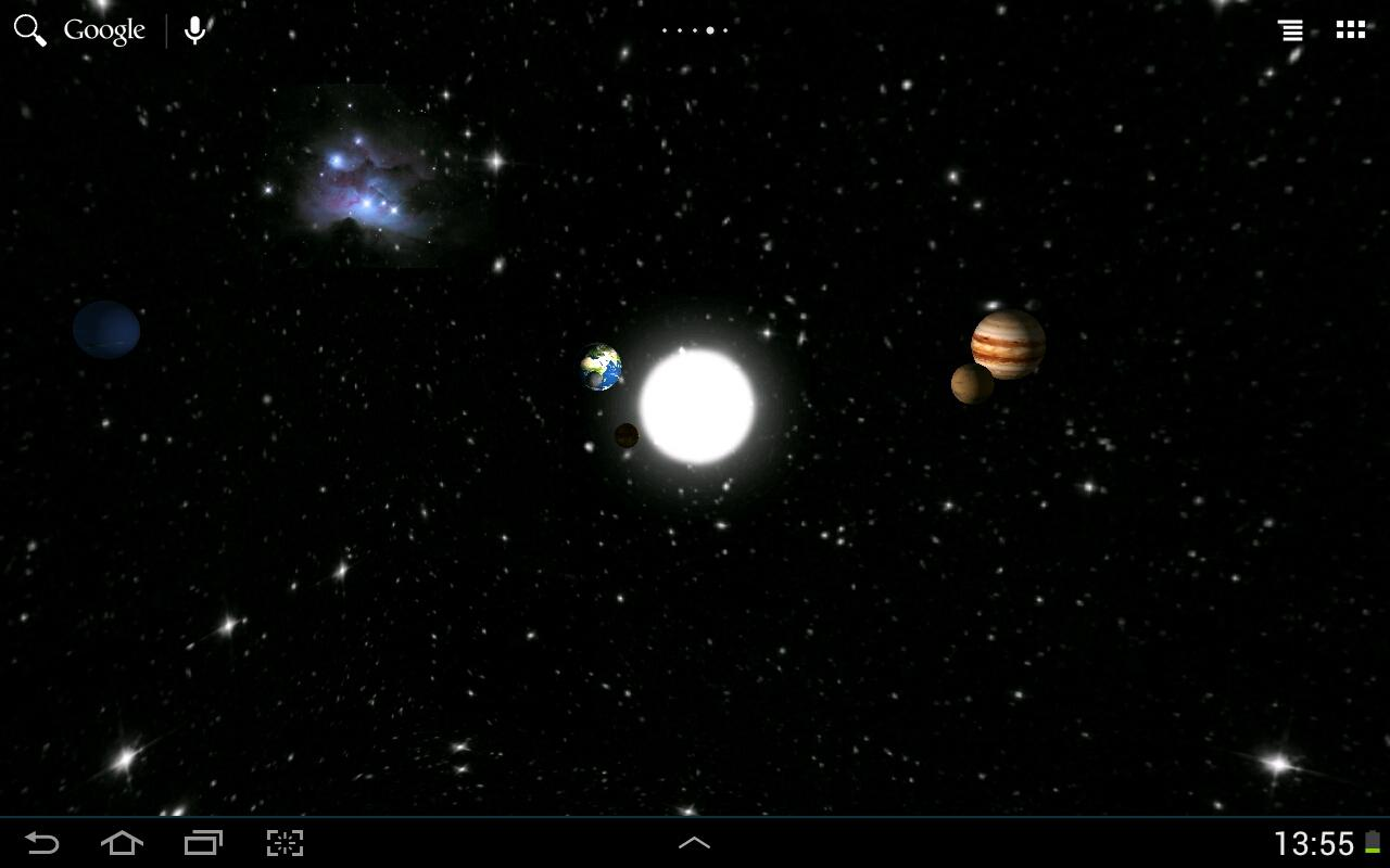 Solar System LWP Lite - Android Apps on Google Play