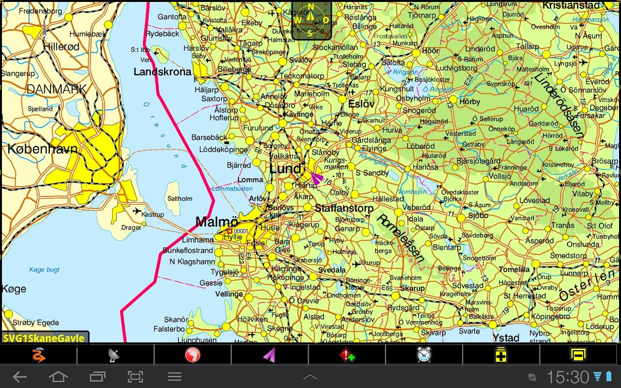 PathAway GPS Outdoor Navigator - screenshot