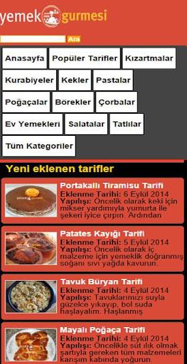 Yemek tarifleri - Yemekgurmesi