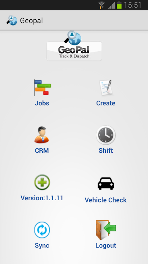 GeoPal Mobile Workforce Mngmt- screenshot