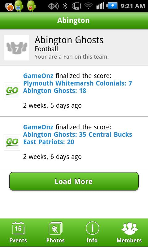 GameOnz - screenshot