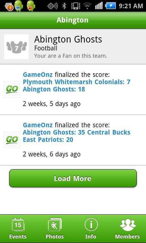 GameOnz - screenshot