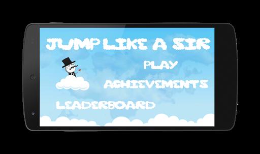 Jump like a Sir