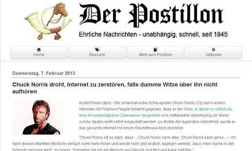 Der Postillon Screenshot