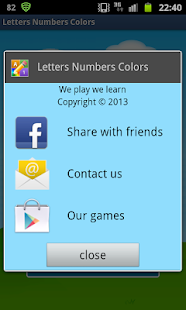 English Letters Numbers Free - screenshot thumbnail