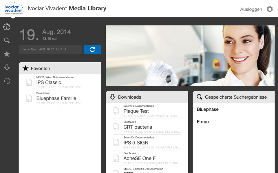 MediaLibrary – Screenshot