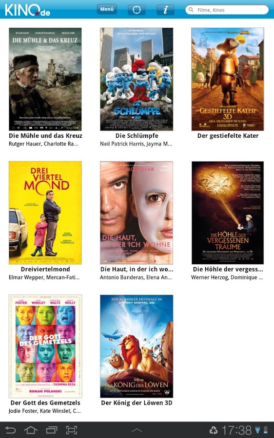 KINO.de- screenshot