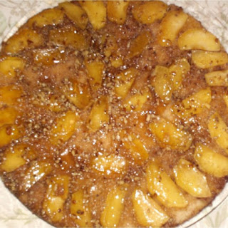 Apple Skillet Cake.