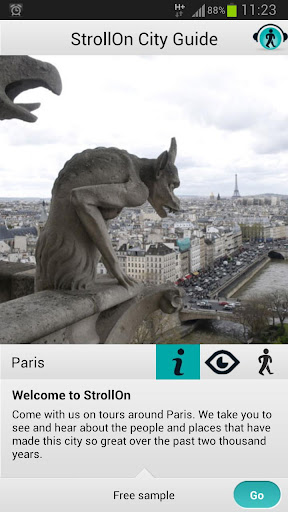 StrollOn Paris; Audio Guide