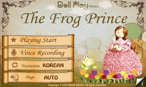 Doll Play books - Frog prince