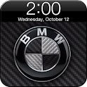 BMW iPhone Lock Theme logo
