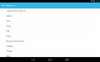 Screenshot of Jota+ (Text Editor)