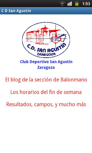 C. D. San Agustín