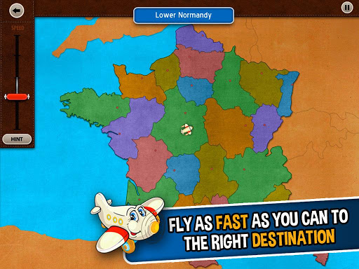 GeoFlight France: Geography