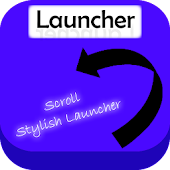 Stylish Scroll launcher