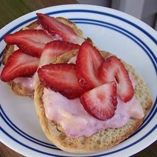 Fruit Stacked English Muffins
